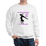 Gymnastics Coach Sweatshirt