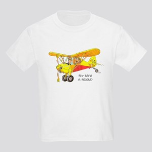 Fly With A Friend Kids Light T-Shirt