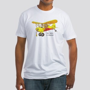 Fly With A Friend Fitted T-Shirt
