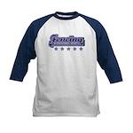 Fencing Sport Kids Baseball Jersey