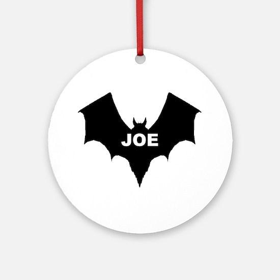 BLACK BAT JOE Keepsake (Round)