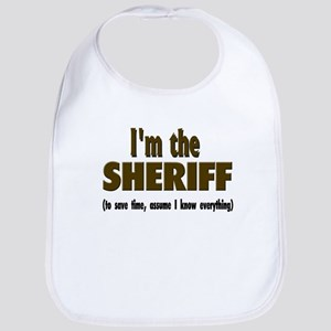 Im the sheriff copy Baby Bib