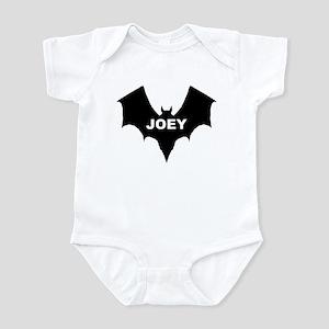 BLACK BAT JOEY Infant Creeper