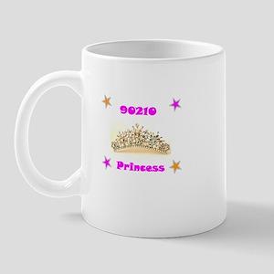 zip code princess Mug