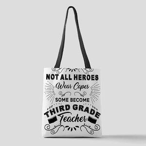 Third Grade Teacher Polyester Tote Bag