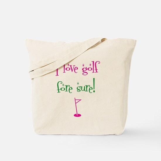 I love golf - Tote Bag