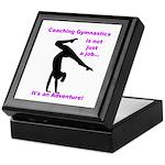 Gymnastics Coach Keepsake Box
