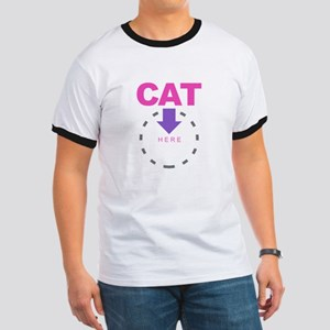 Cat with Arrow T-Shirt