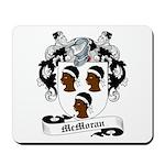 McMoran Family Crest Mousepad