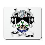 McNab Family Crest Mousepad