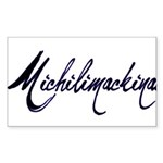 Michilimackinac Rectangle Sticker