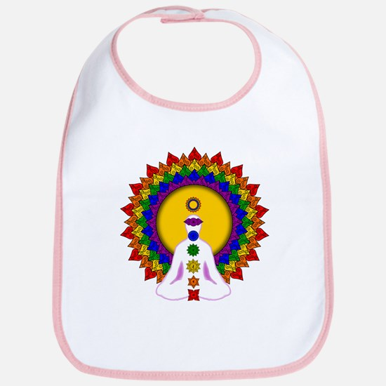 Spiritually Enlightened Bib