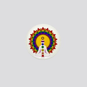 Spiritually Enlightened Mini Button