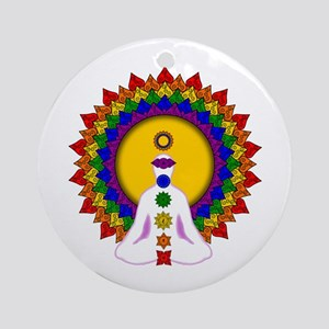 Spiritually Enlightened Ornament (Round)