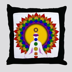Spiritually Enlightened Throw Pillow