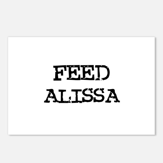 Feed Alissa Postcards (Package of 8)