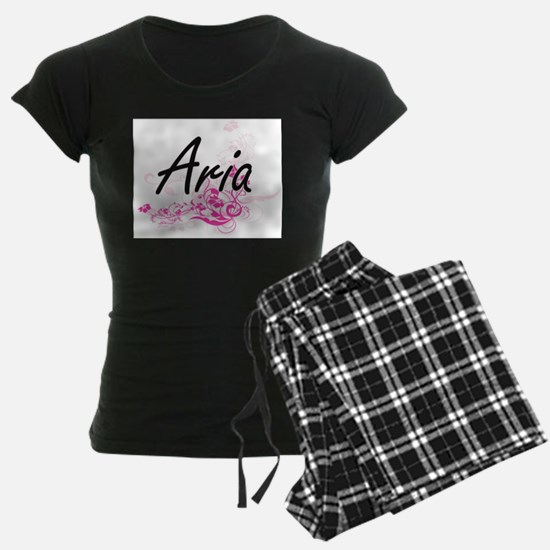 Aria Artistic Name Design wit Pajamas