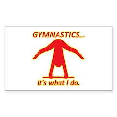 Gymnastics Sticker - Do