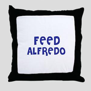Feed Alfredo Throw Pillow