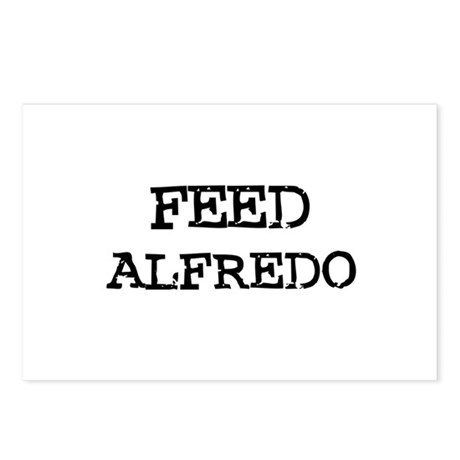 Feed Alfredo Postcards (Package of 8)