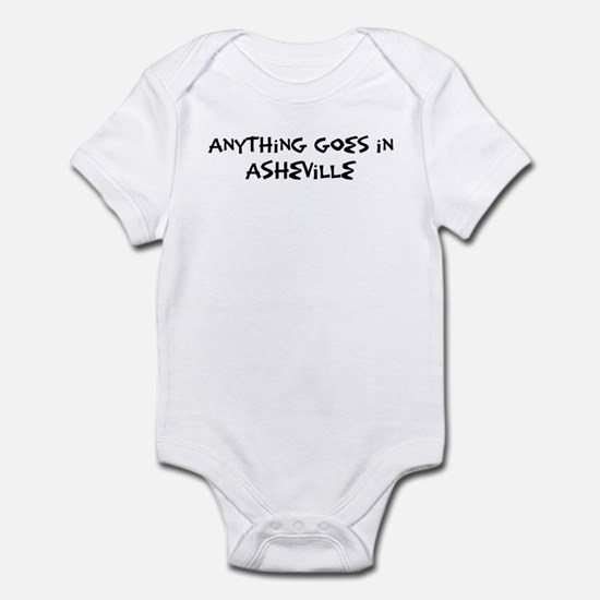 Asheville - Anything goes Infant Bodysuit