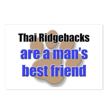 Thai Ridgebacks man's best friend Postcards (Packa