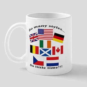 So many styles... Mug