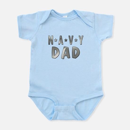 NAVY DAD Body Suit