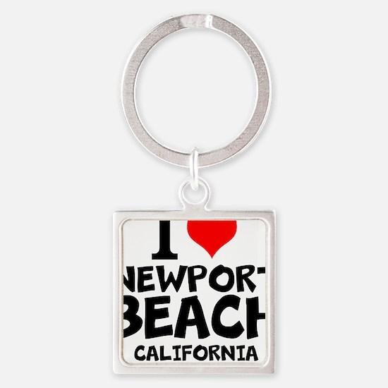 I Love Newport Beach, California Keychains