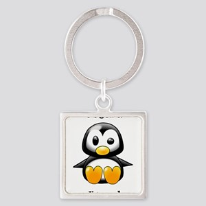 Oh Yeah, I'm Cool Penguin Keychains