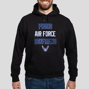 Proud Air Force Boyfriend Hoodie (dark)