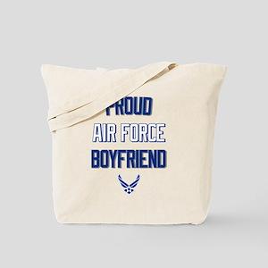 Proud Air Force Boyfriend Tote Bag