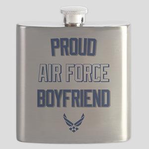 Proud Air Force Boyfriend Flask