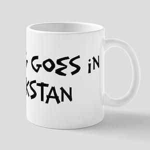 Kazakstan - Anything goes Mug