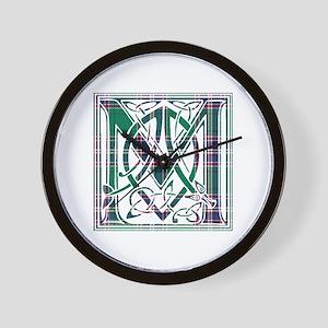 Monogram-MacFarlane hunting Wall Clock