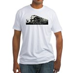 Jersey Central Lines Fitted T-Shirt