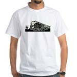 Jersey Central Lines White T-Shirt