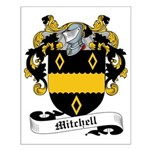 Mitchell Family Crest Small Poster