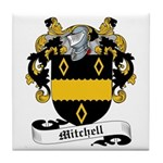 Mitchell Family Crest Tile Coaster