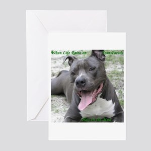 Smile With APBT Style Greeting Cards (Pk of 10