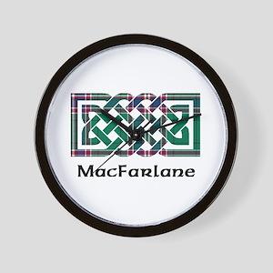Knot-MacFarlane hunting Wall Clock