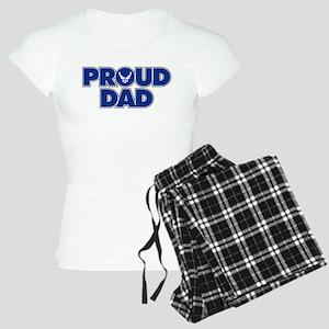 Proud Air Force Dad Women's Light Pajamas