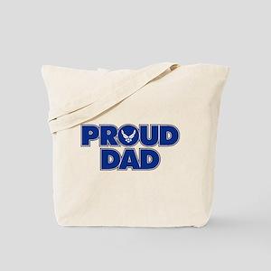 Proud Air Force Dad Tote Bag