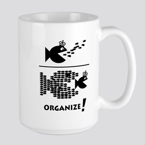 Organize Fish Large Mug