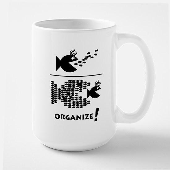 Organize Fish Large Mug