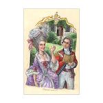 American Rococo Mini Poster Print