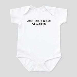 St Martin - Anything goes Infant Bodysuit