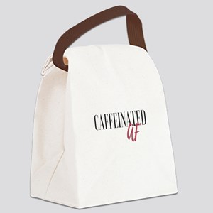 Caffeinated AF Canvas Lunch Bag