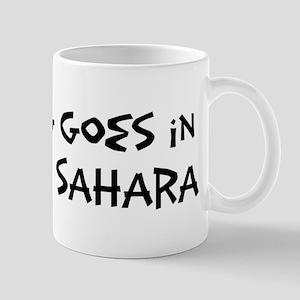 Western Sahara - Anything goe Mug