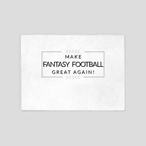 Make Fantasy Football Great Again 5'x7'Area Rug